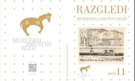 Muzejskega društva Bled predstavlja Razglede 2019 – Festivalna dvorana Bled, 8. oktober 2019 ob 19. uri